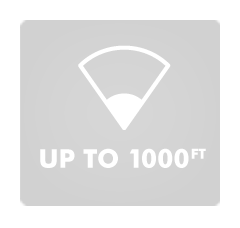 Up To 1000 ft.  Range