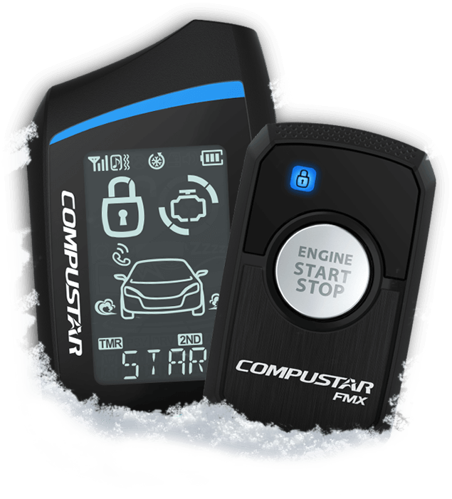 Compustar remote starters security systems car alarms remote start for winter sciox Gallery