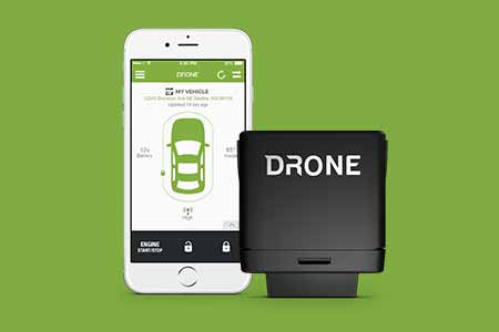 remote start control from your smartphone dronemobile