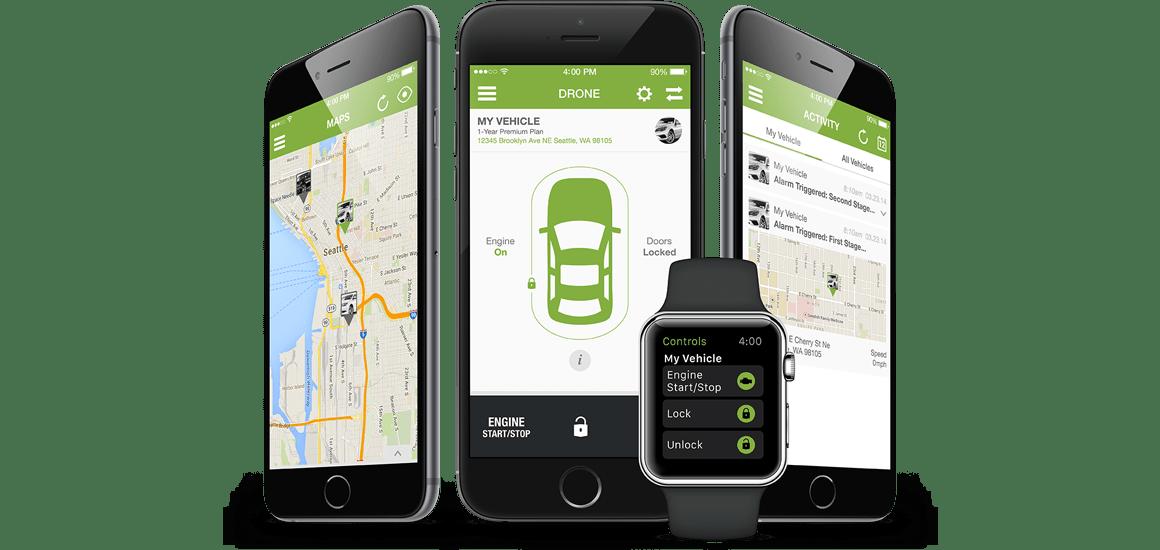 Drone Mobile remote start Smartphone App