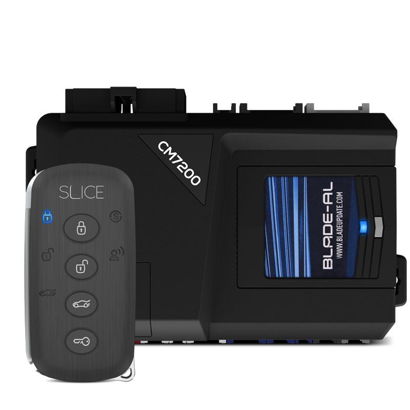 Compustar Prime Slice remote and controller