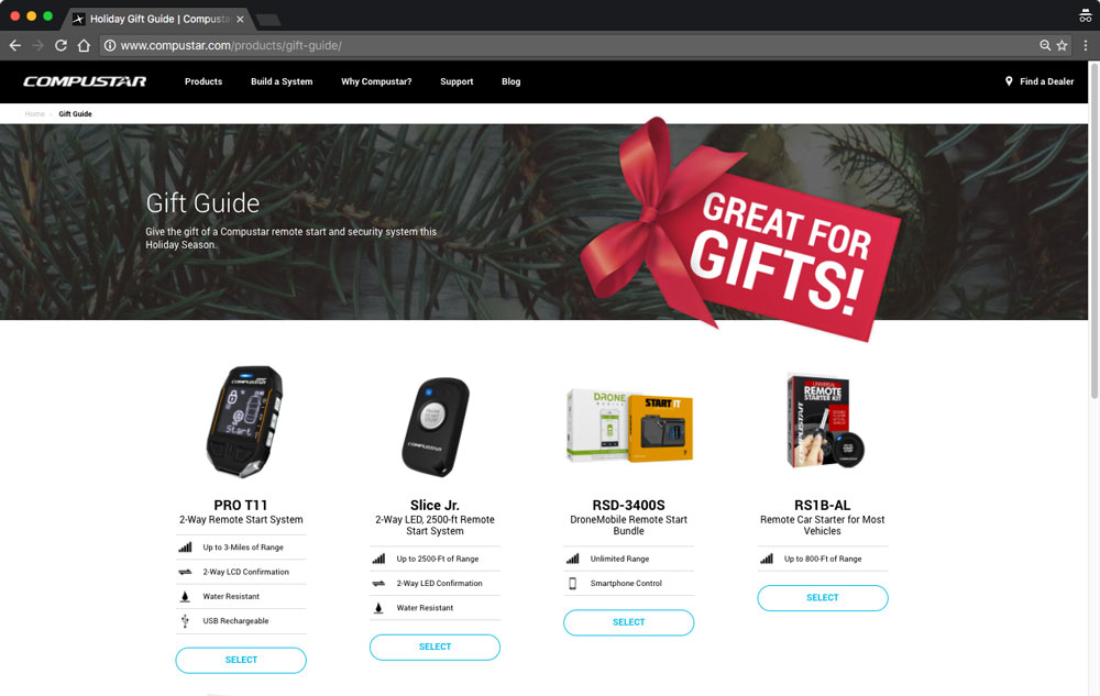 Remote start gift guide