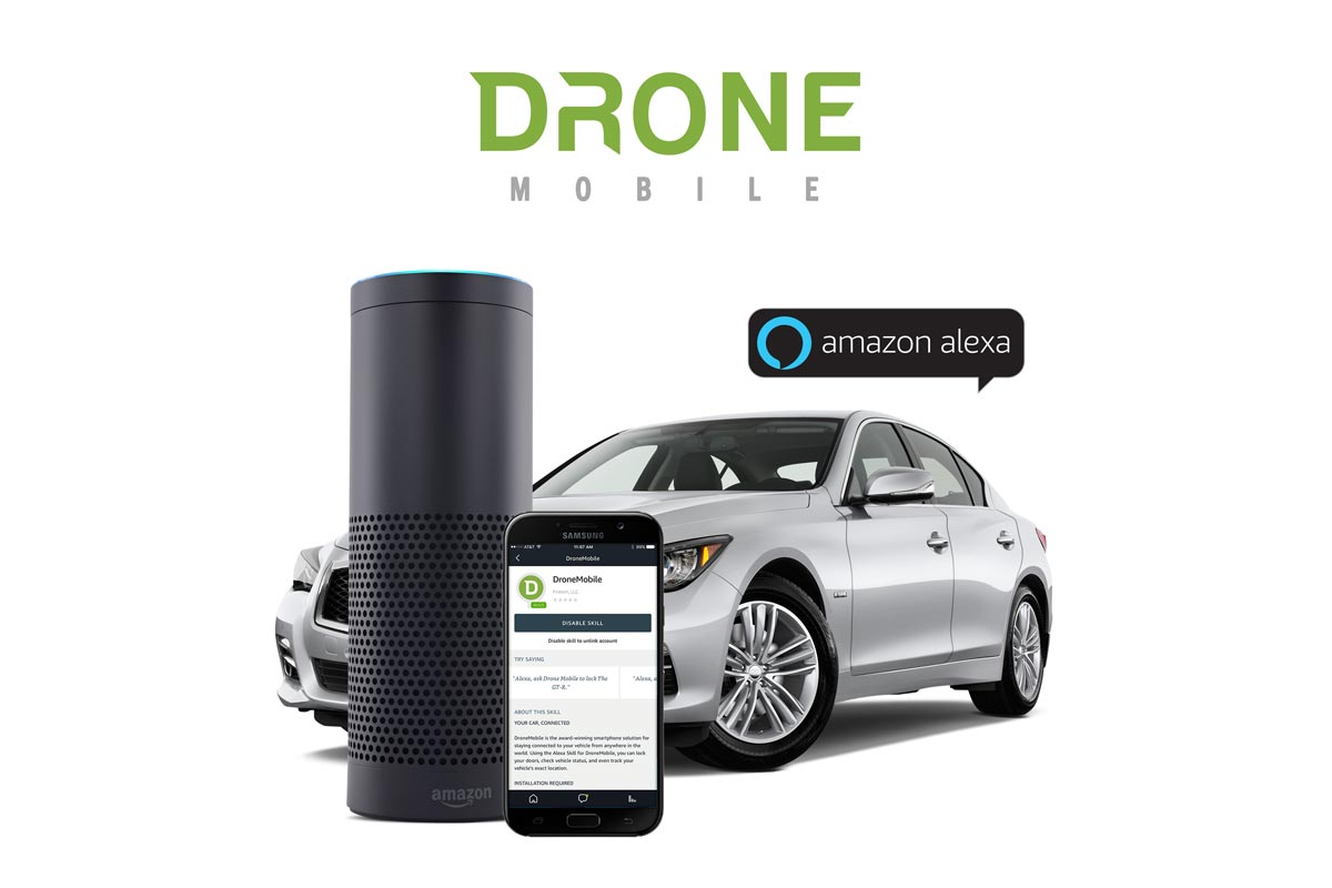 dronemobile now works for amazon alexa