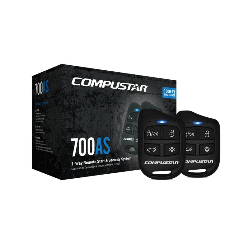 cs700 as 1 way remote start car alarm bundle compustar rh compustar com compustar cs600s install manual Compustar Remote Start Wiring Diagram