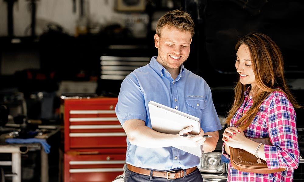An authorized dealer can save you time and money in the long run.