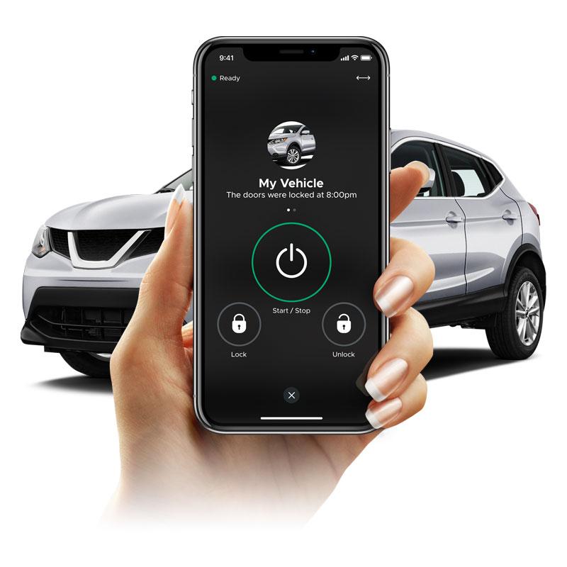 smartphone car control