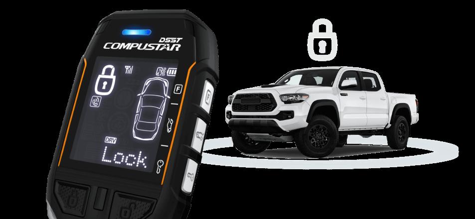 Compustar 2-way Two-Way Car Alarm Security System