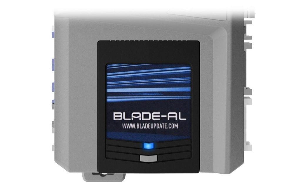 An iDatalink blade-al bypass module.